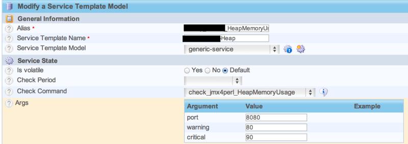 Jmx4Perl service template